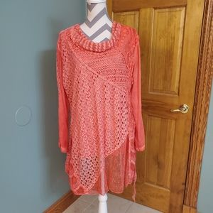 Simply Couture Hobo Top Brand New 3x